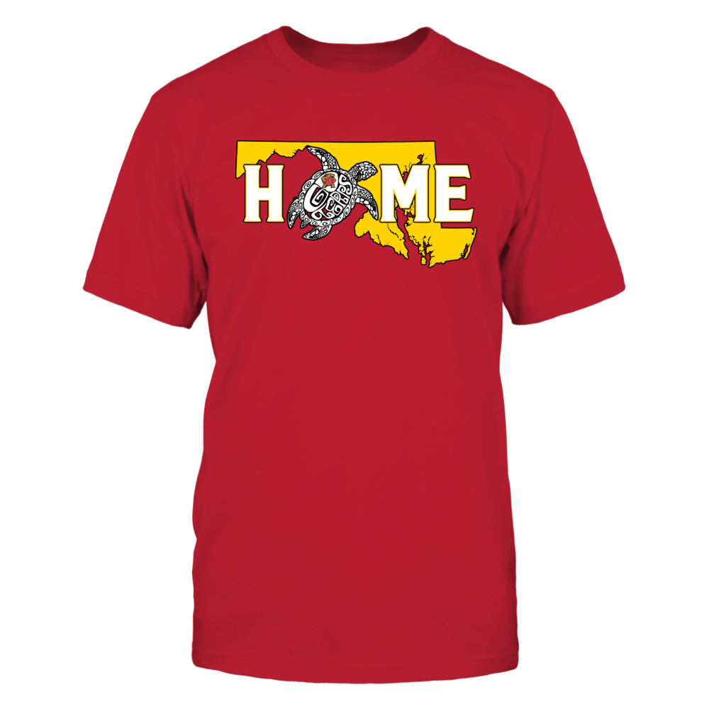 Maryland Terrapins - Mascot Home Slogan Front picture