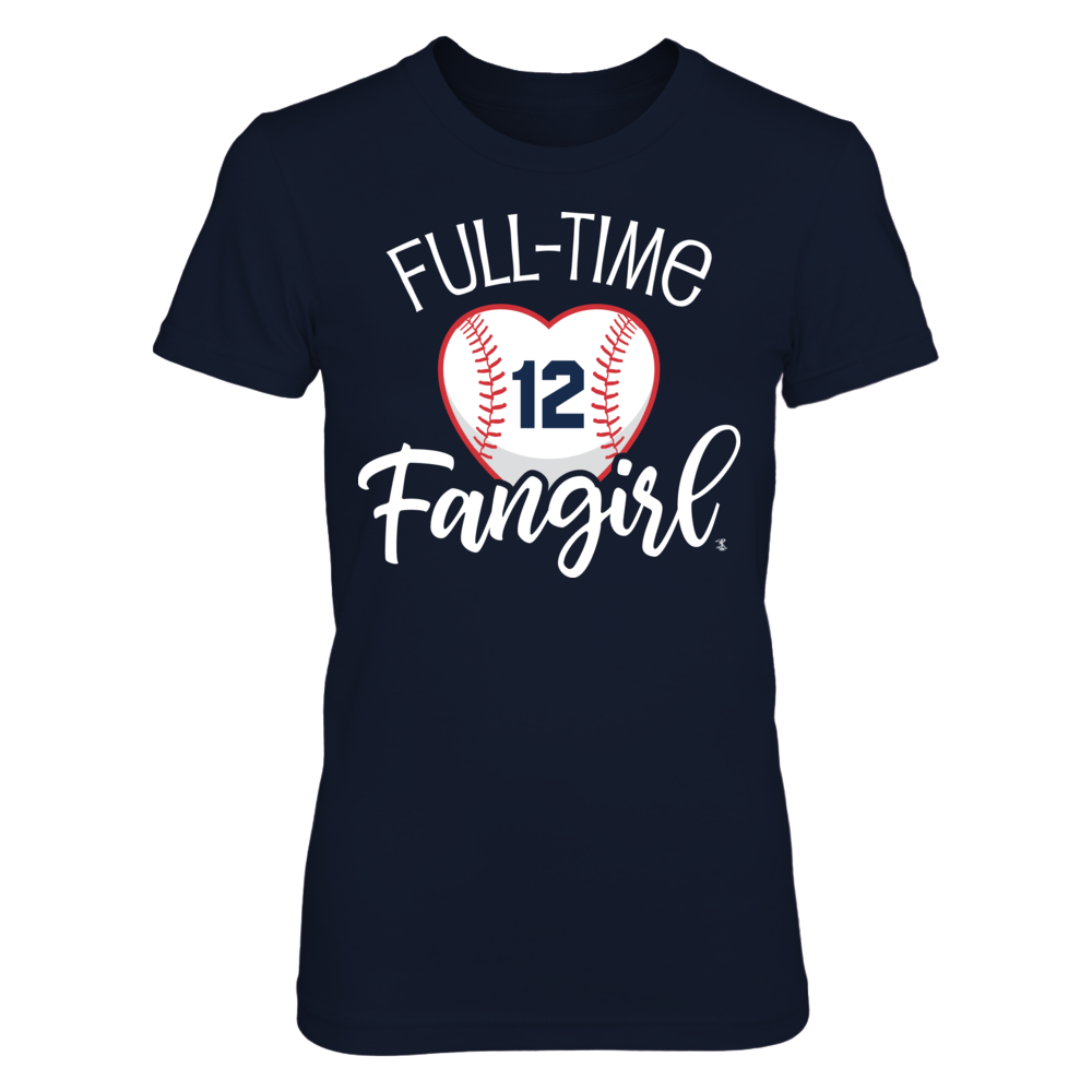 Full-Time FanGirl Francisco Lindor T-Shirt | Tank Front picture