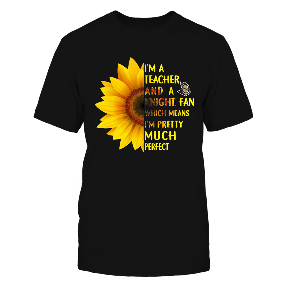 UCF Knights - Perfect Teacher - Half Sunflower Front picture