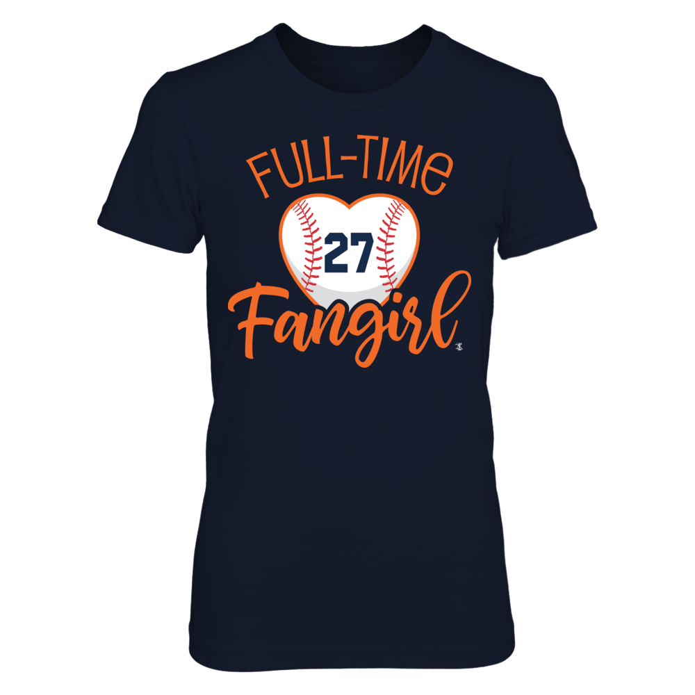 Full-Time FanGirl  Jose Altuve T-Shirt | Tank Front picture