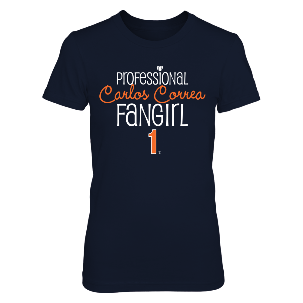 Professional FanGirl Carlos Correa T-Shirt | Tank Front picture