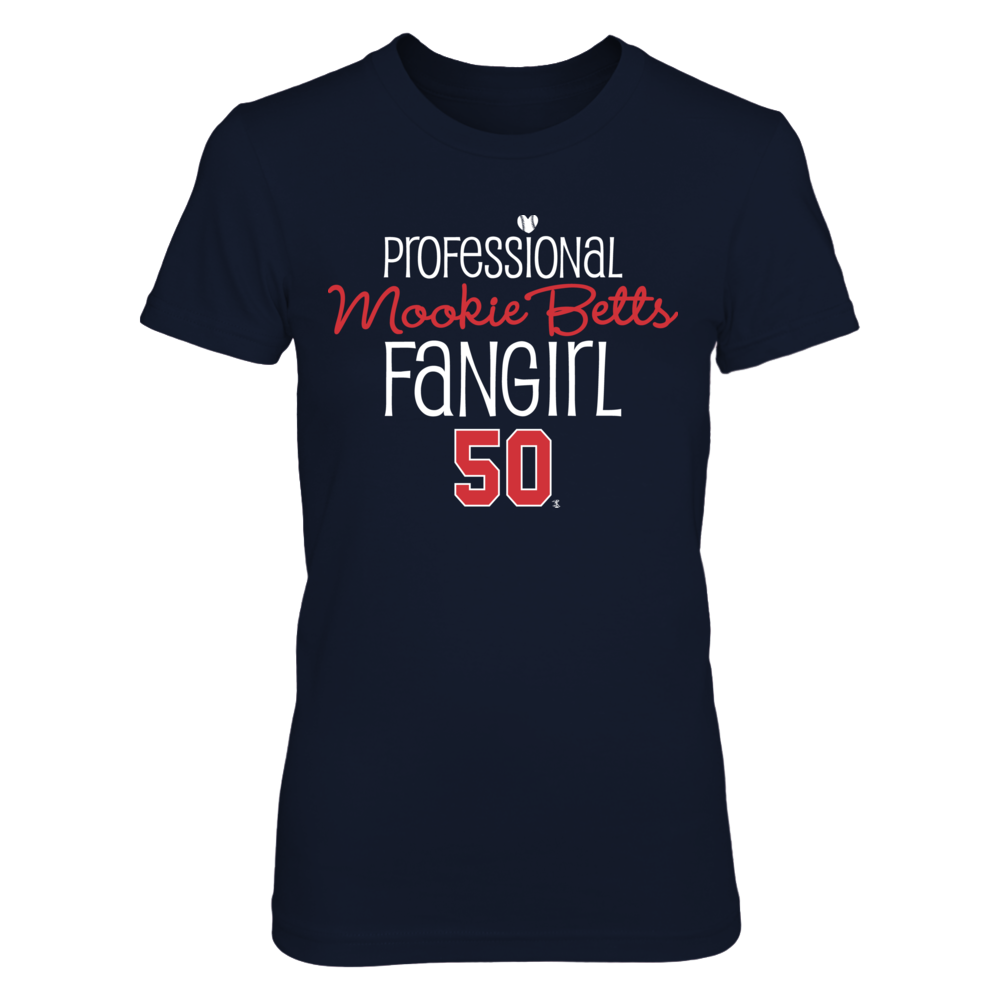 Professional FanGirl Mookie Betts T-Shirt | Tank Front picture