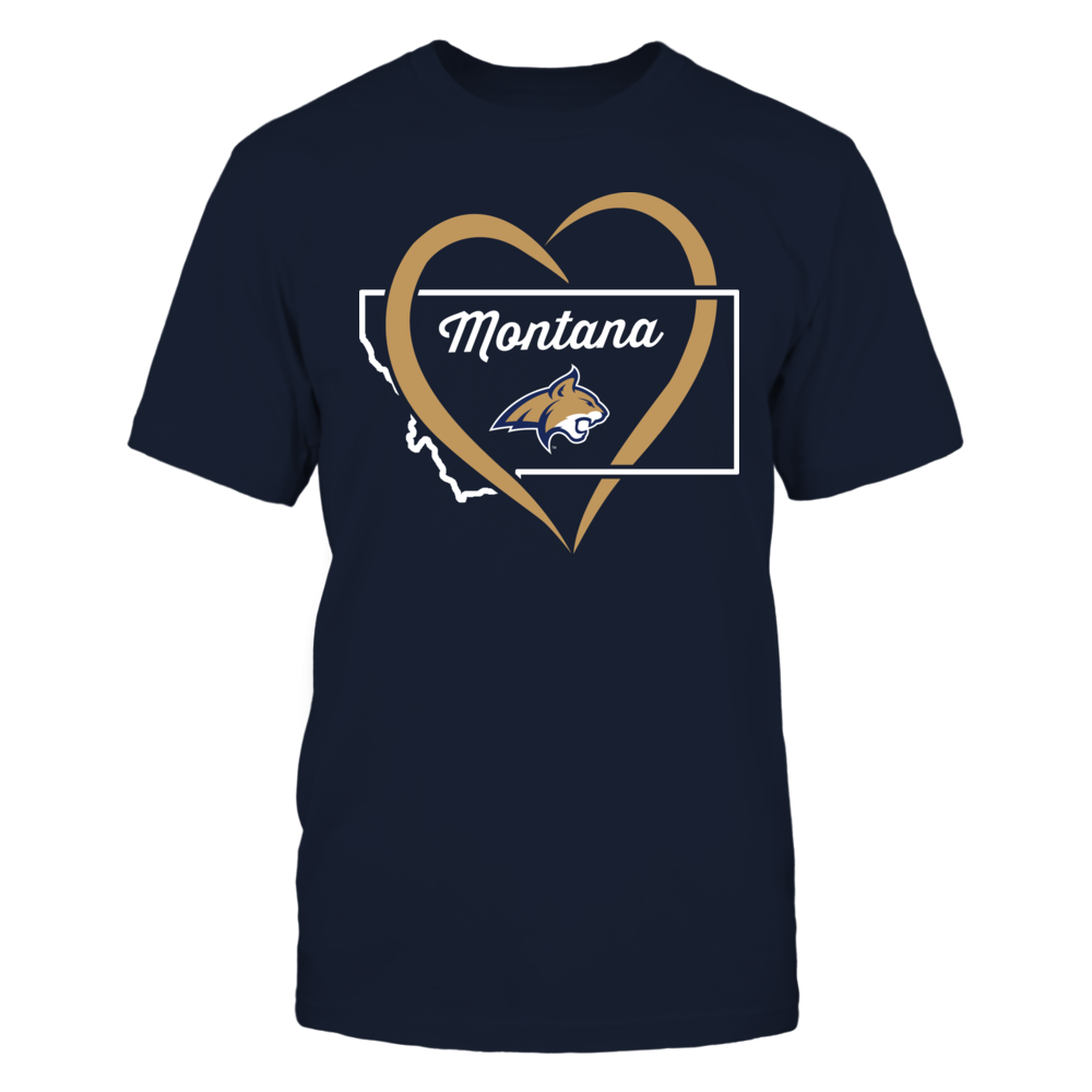 Montana State Bobcats - Heart State - My Heart belongs to Front picture