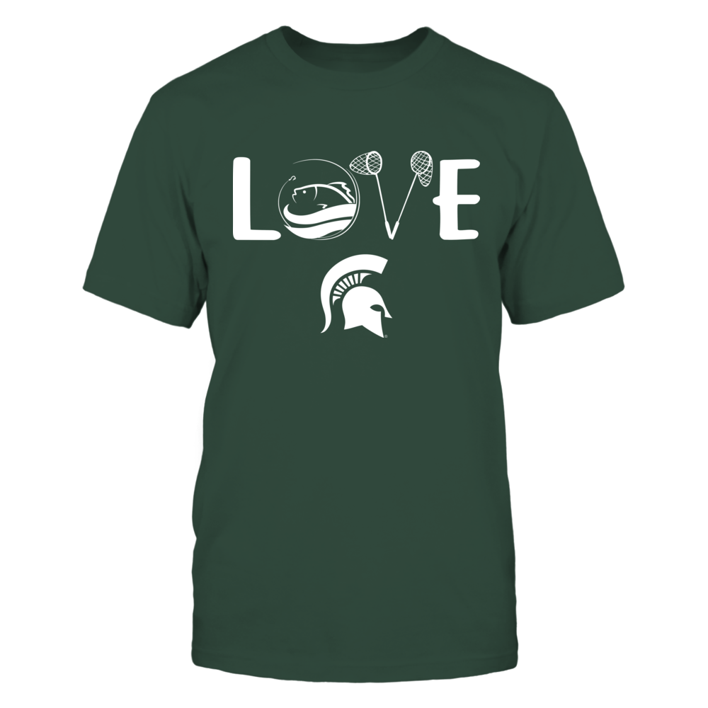 Michigan State Spartans - Fishing - Love My Team Front picture