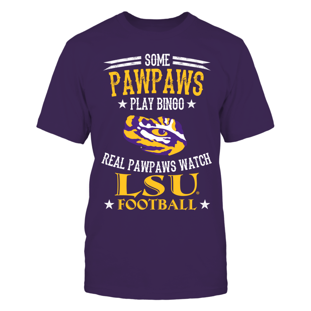 LSU Tigers - Real - Pawpaws - Bingo Front picture