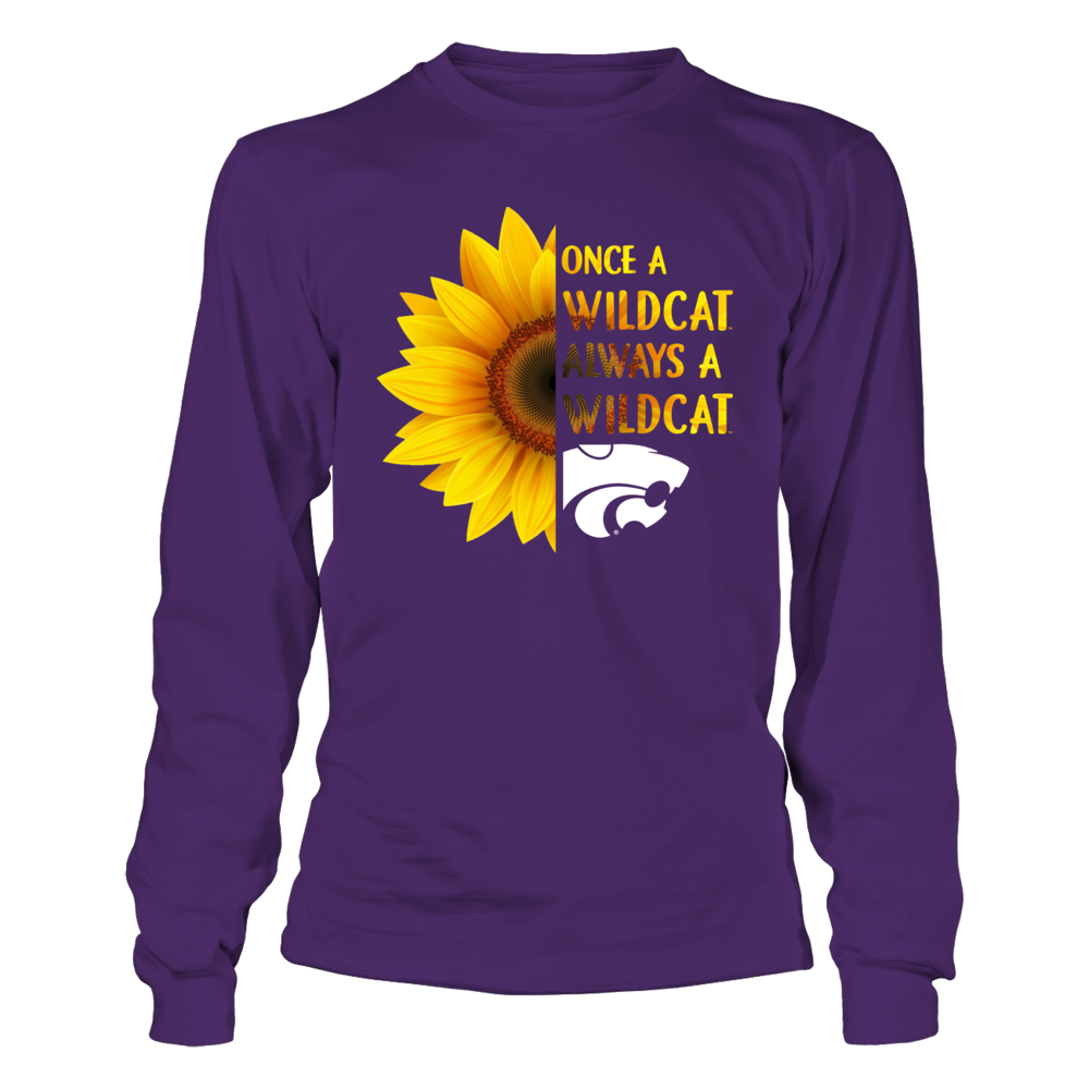 Kansas State Wildcats - Half Sunflower - Once - IF-IC13-DS27 Front picture