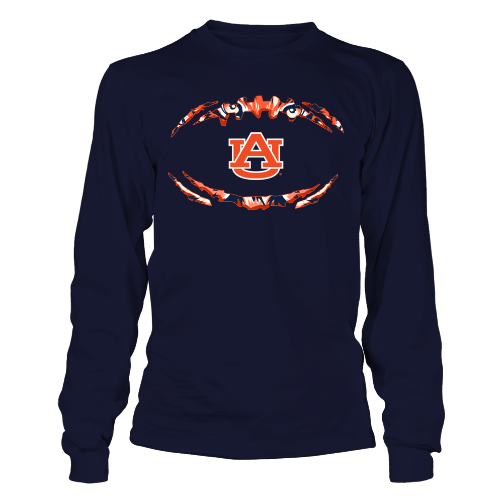 Auburn Tigers - Football Outline - Tiger Scratch Front picture