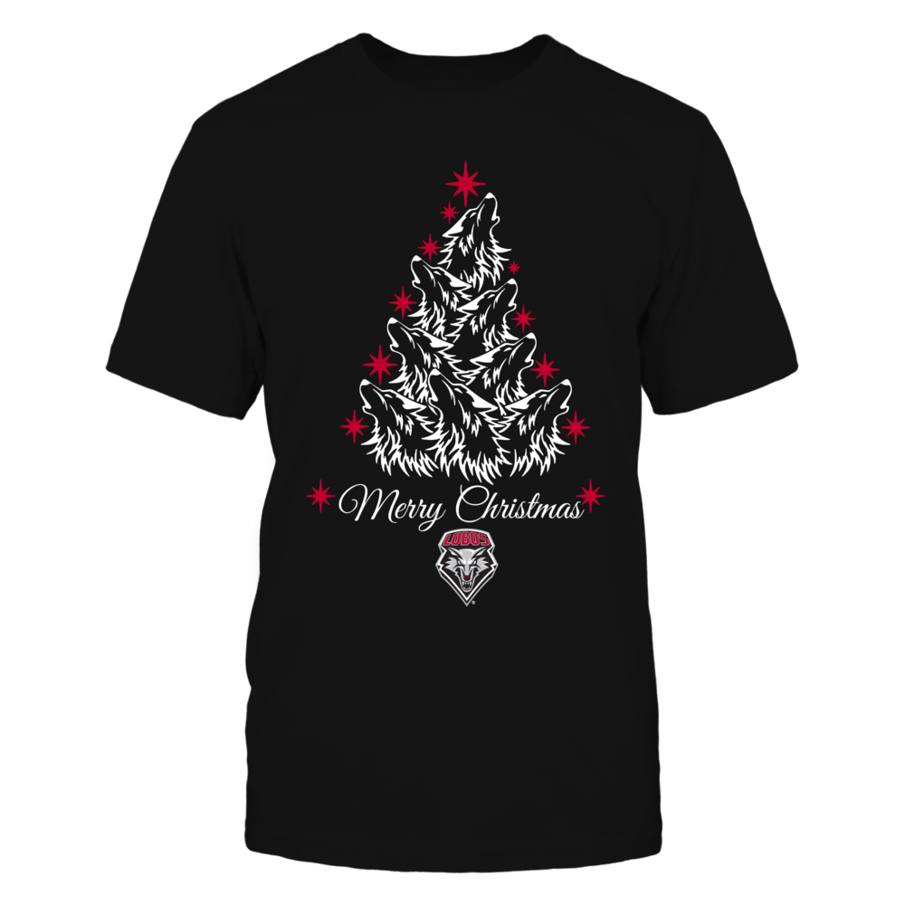 New Mexico Lobos - Mascot Xmas Tree - Wolf Front picture