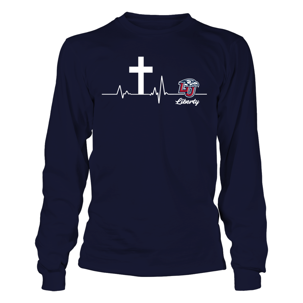 Liberty Flames - Cross Heartbeat Front picture