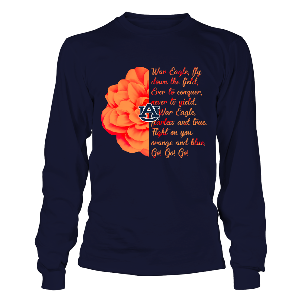 Auburn Tigers - Half Flower Fight Song Front picture