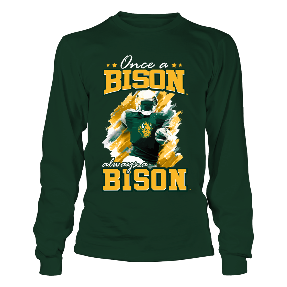 North Dakota State Bison - Once A Fan - Player Artwork Front picture
