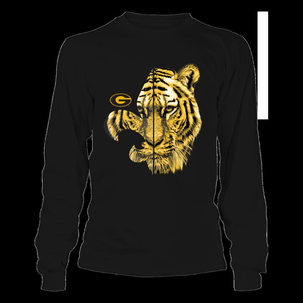 Grambling State Tigers - Half Tiger - Fleur De Lis Front picture