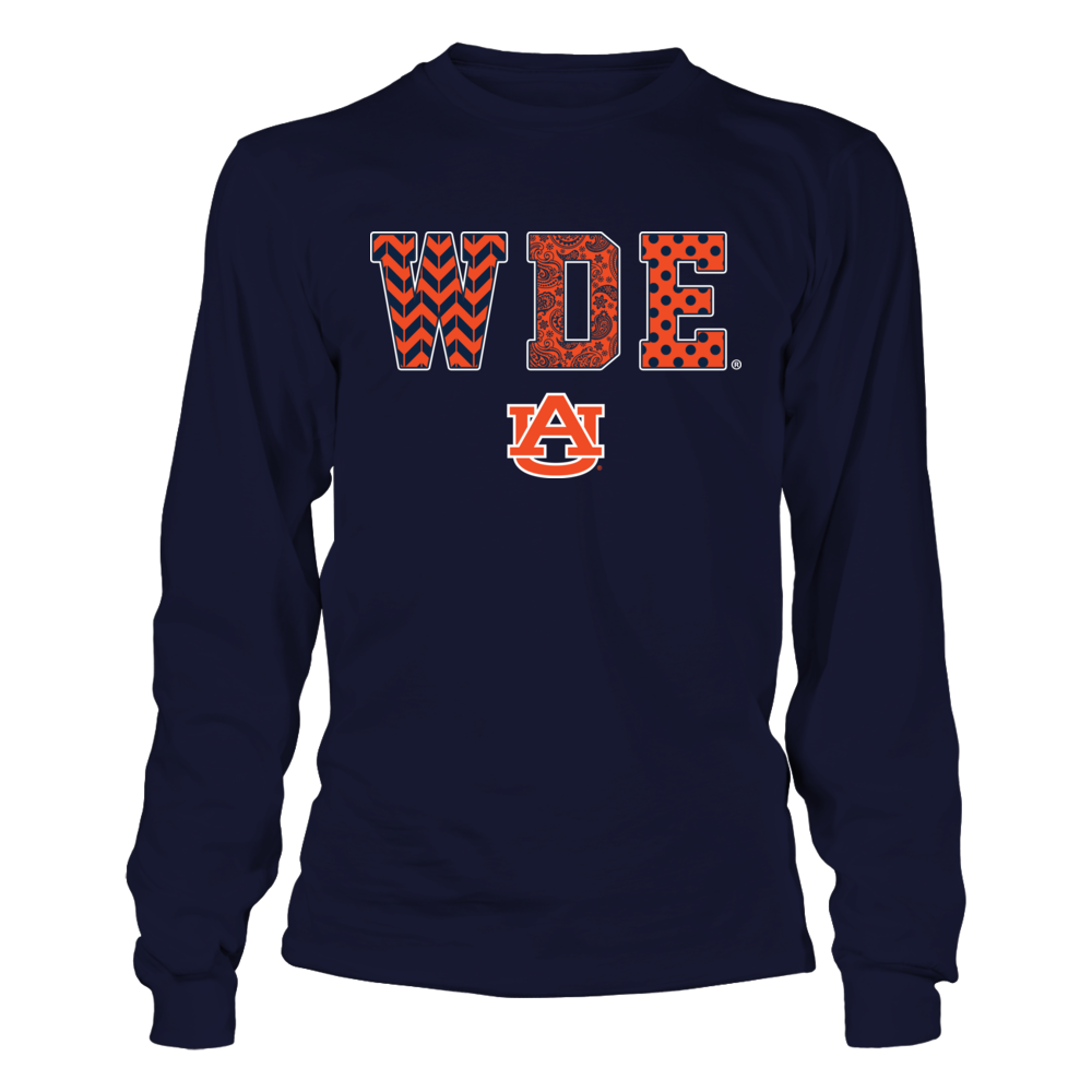 Auburn Tigers - Patterned Letters - WDE Front picture