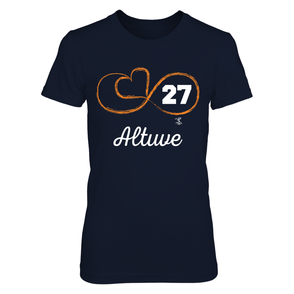 Infinite Heart - Jose Altuve Front picture