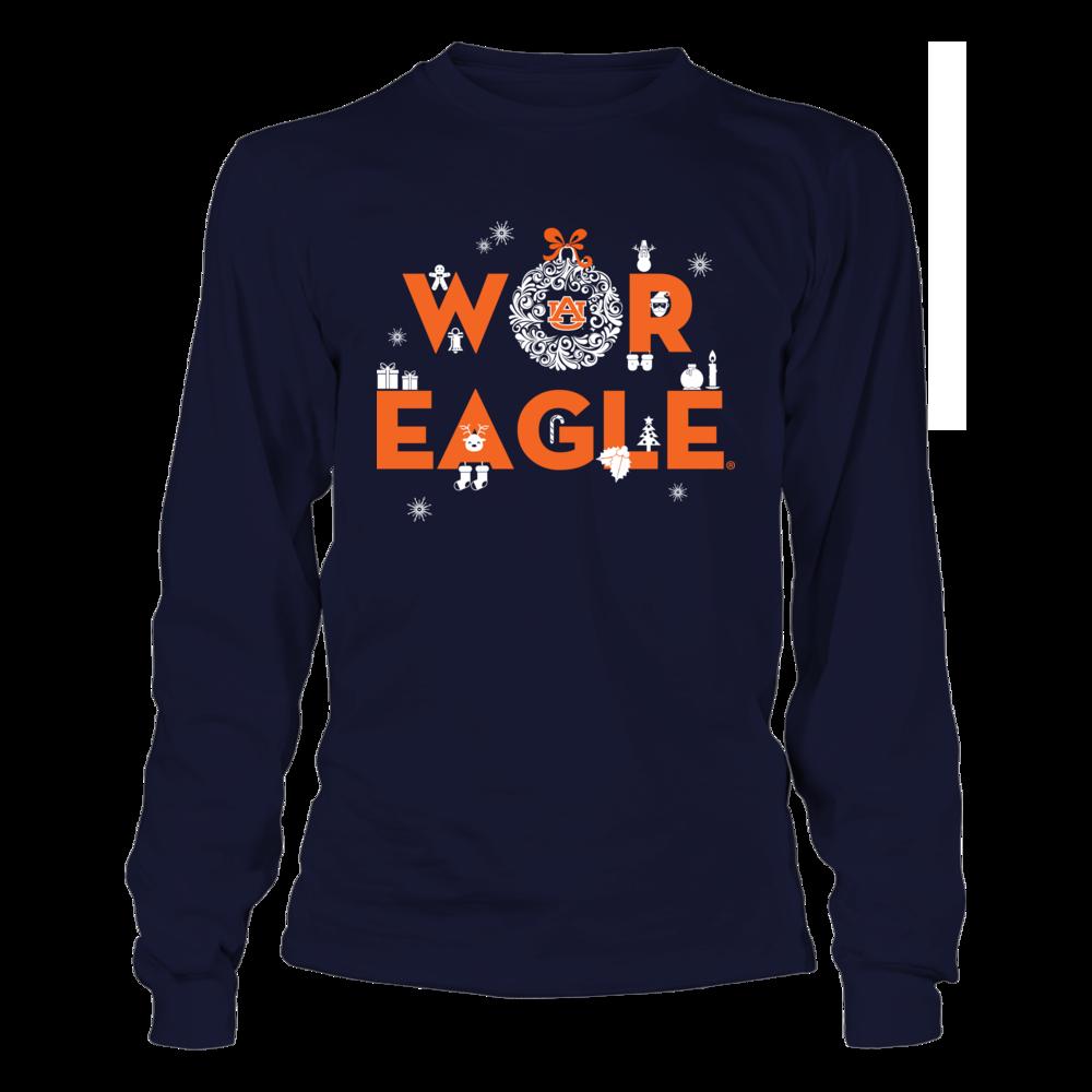 Auburn Tigers - Team Slogan - Ornament Front picture