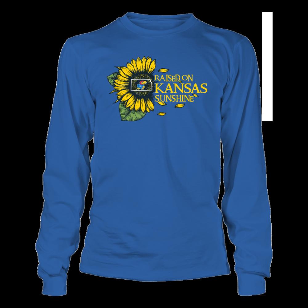 Kansas Jayhawks - Raised On State Sunshine - Sunflower Front picture
