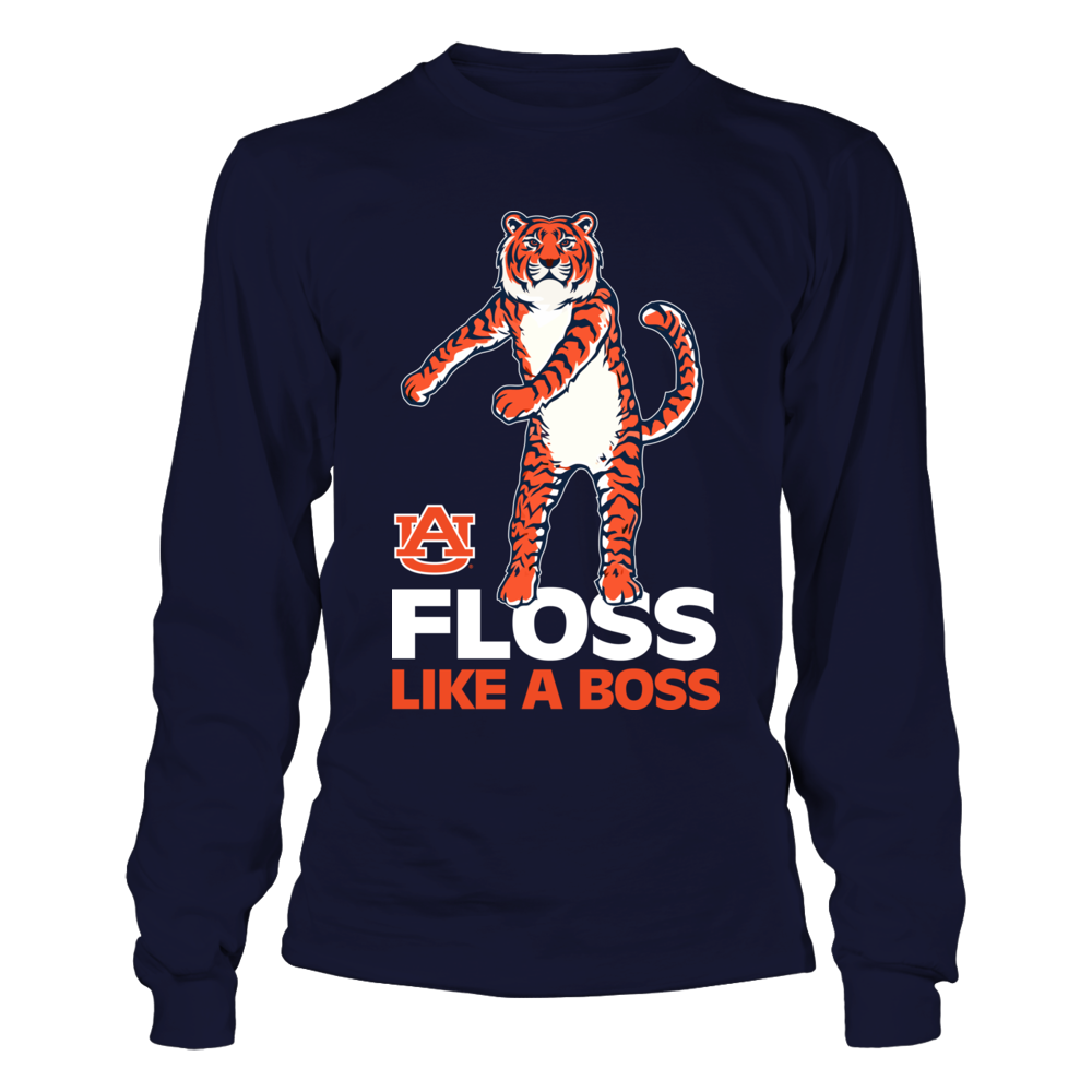 Auburn Tigers - Floss Like A Boss - Tiger - IF-IC13-DS75 Front picture