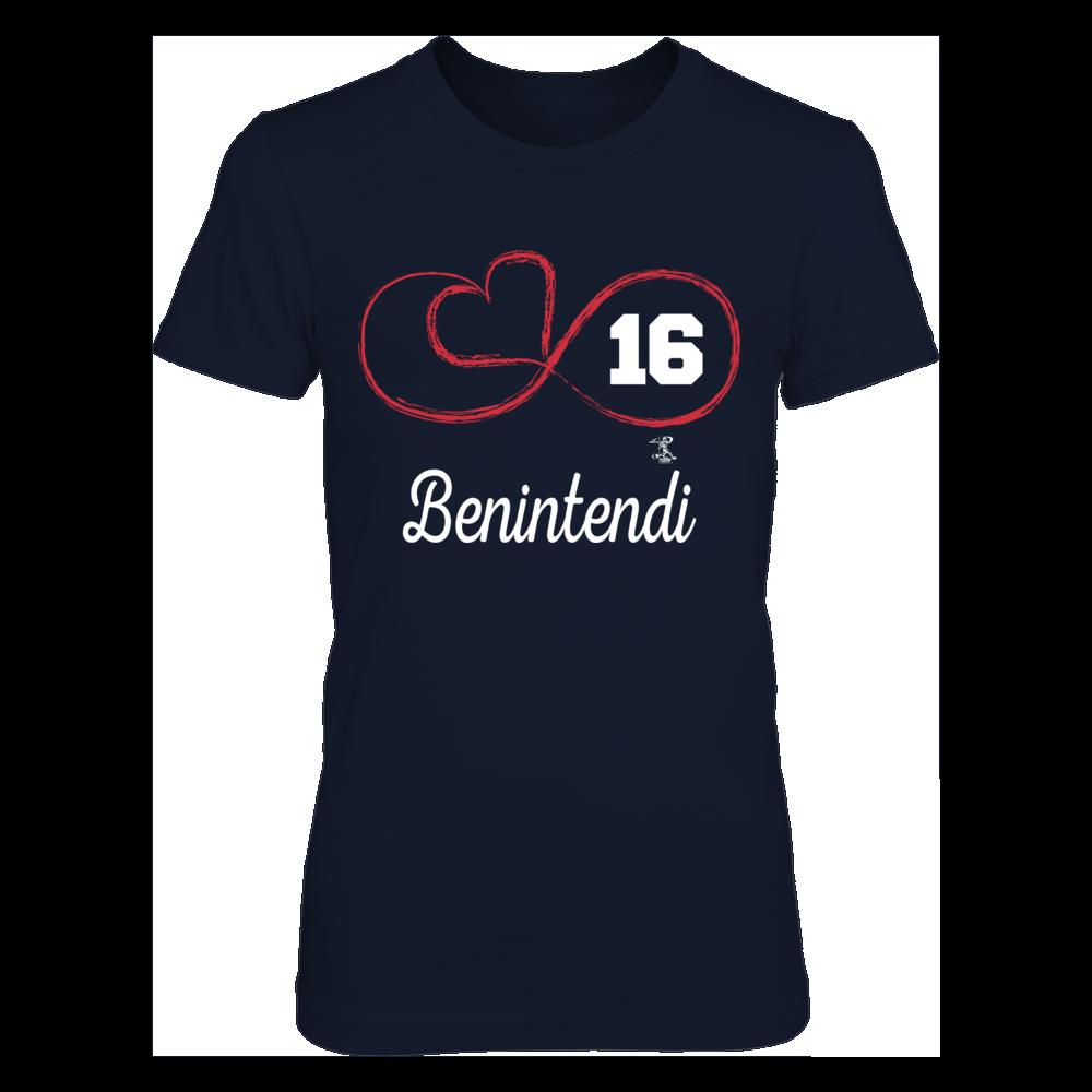 Infinite Heart - Andrew Benintendi Front picture
