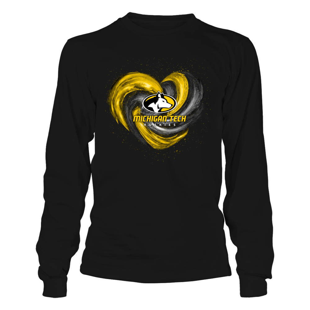 Michigan Tech Huskies - Hurricane Heart - Original Front picture