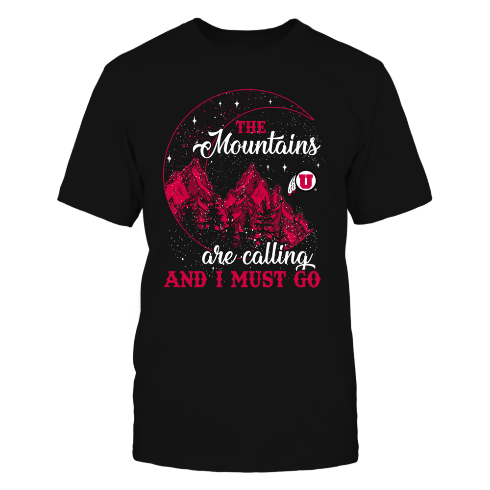 Utah Utes - Mountain Moon - The Mountains Are Calling Front picture