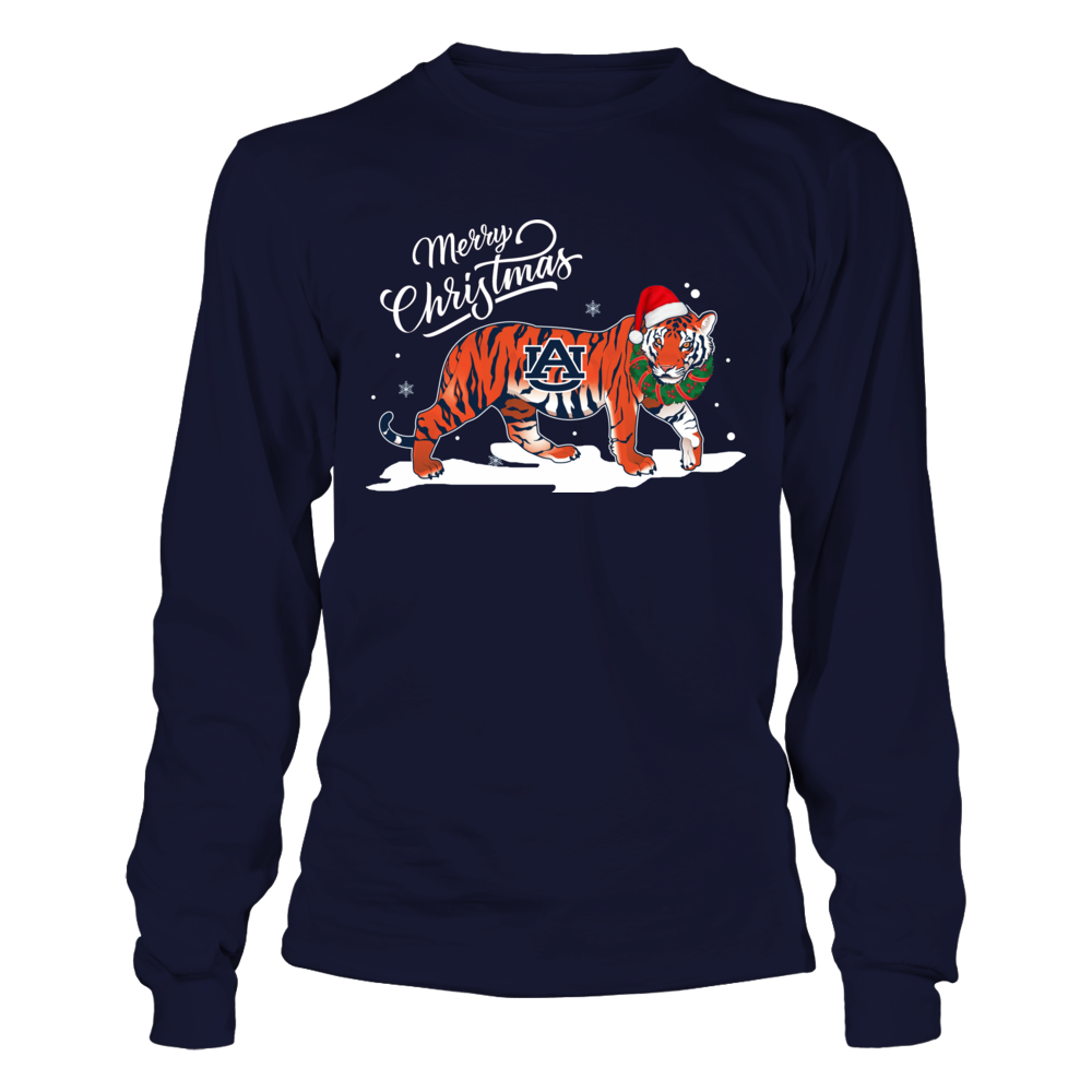 Auburn Tigers - Merry Christmas - Mascot - Tiger Front picture
