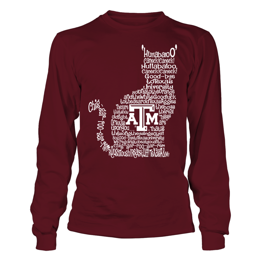 Texas A&M Aggies - Fight Song Inside Cat Front picture