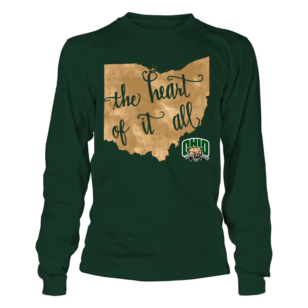 Ohio Bobcats - The Heart Of It All - Galaxy Front picture