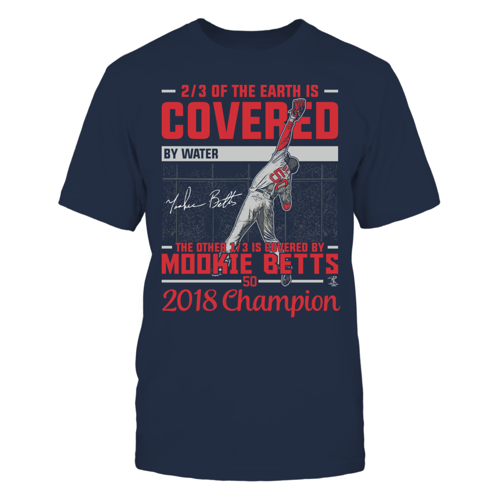 Covered By - Mookie Betts - 2018 Champion Front picture