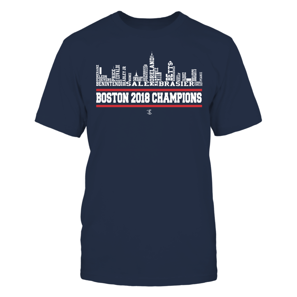 Boston Championship Skyline 2018 Front picture
