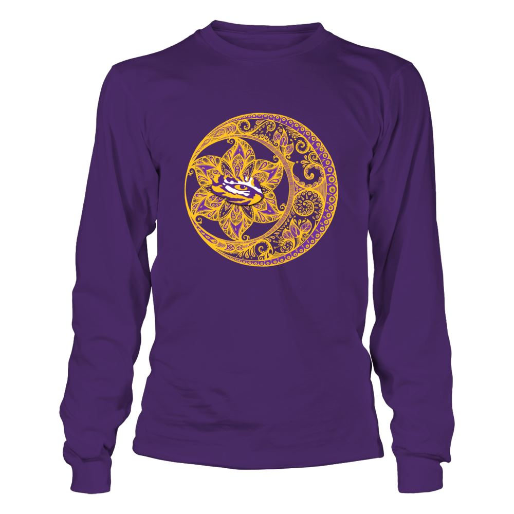 LSU Tigers - Mandala Circle Front picture