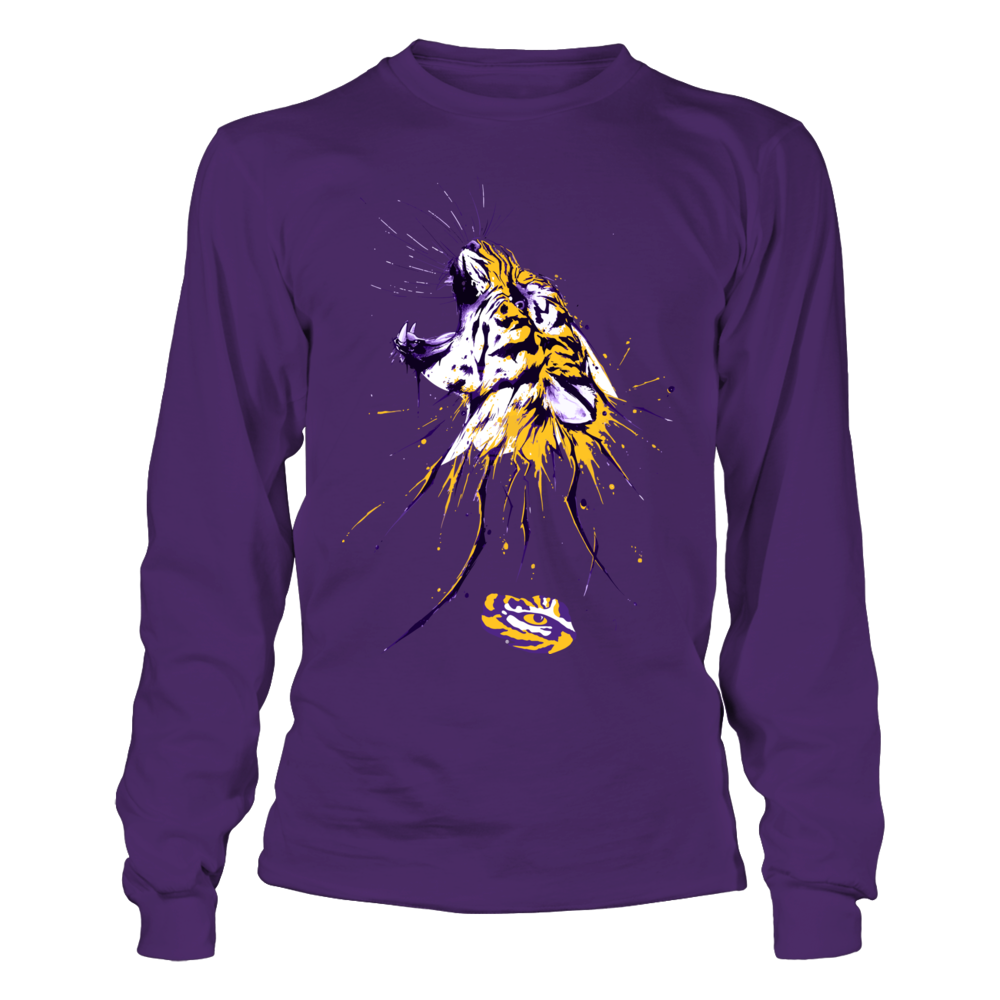 LSU Tigers - Roaring Tiger - Color Drop Front picture