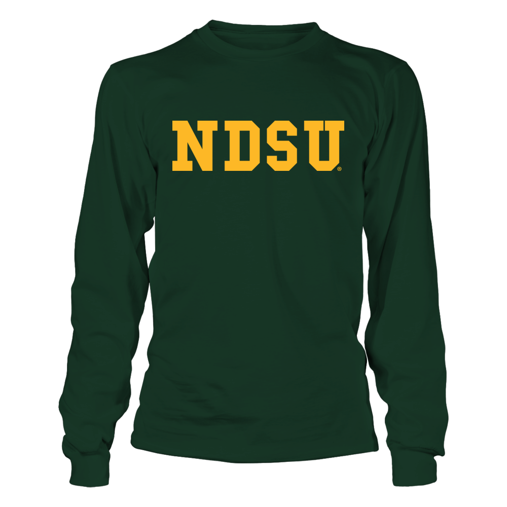 North Dakota State Bison - Vintage Slogan Letters Front picture