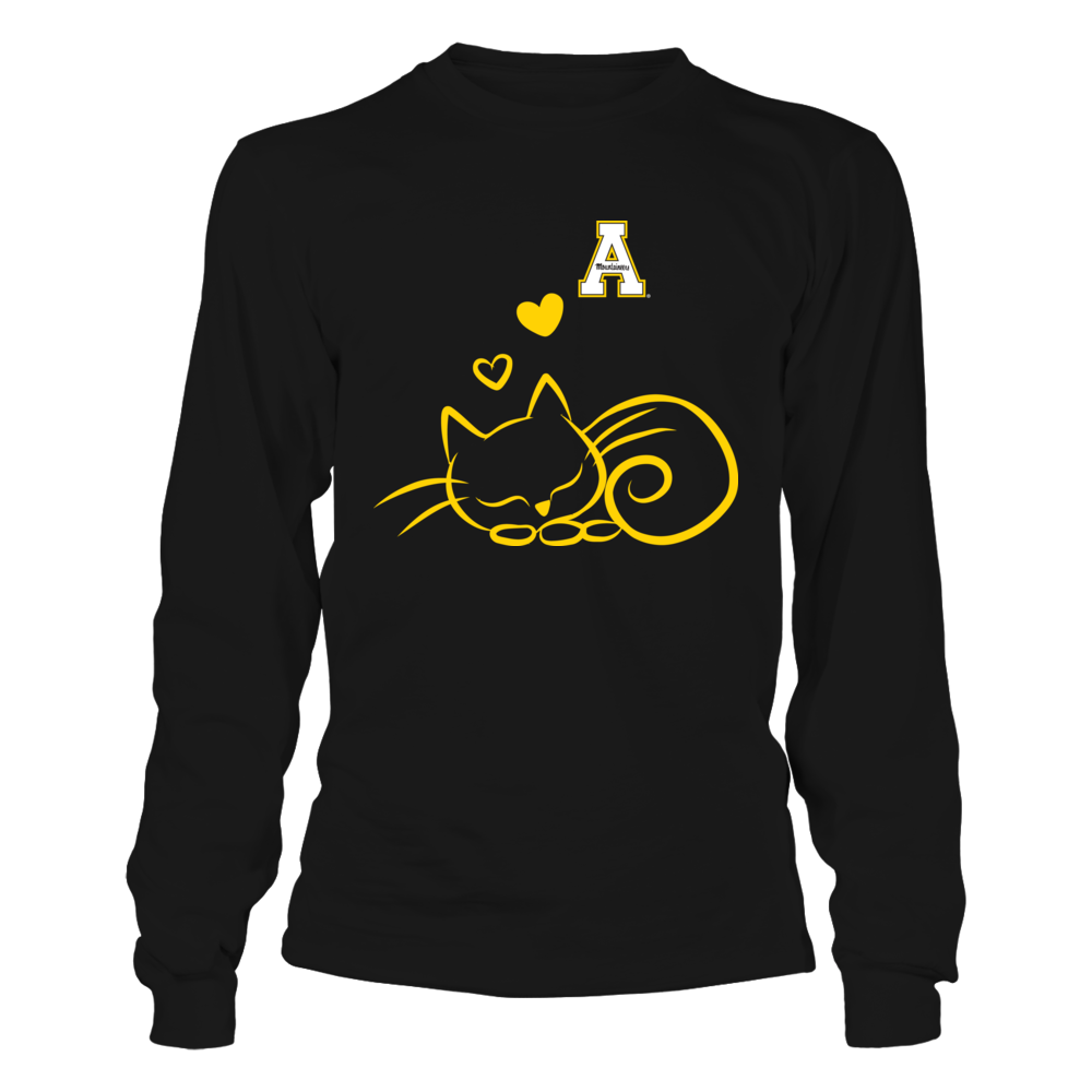 Appalachian State Mountaineers - Sleeping Cat Front picture