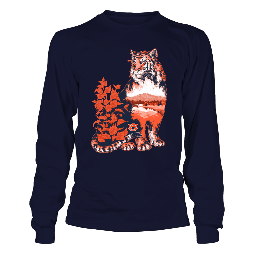 Auburn Tigers - Beautiful Nature Inside Tiger Front picture
