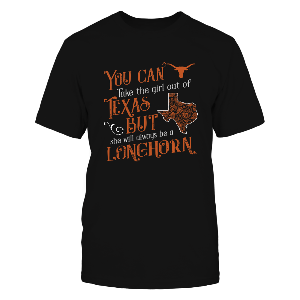 Texas Longhorns - Take The Girl Out Paisley State Front picture