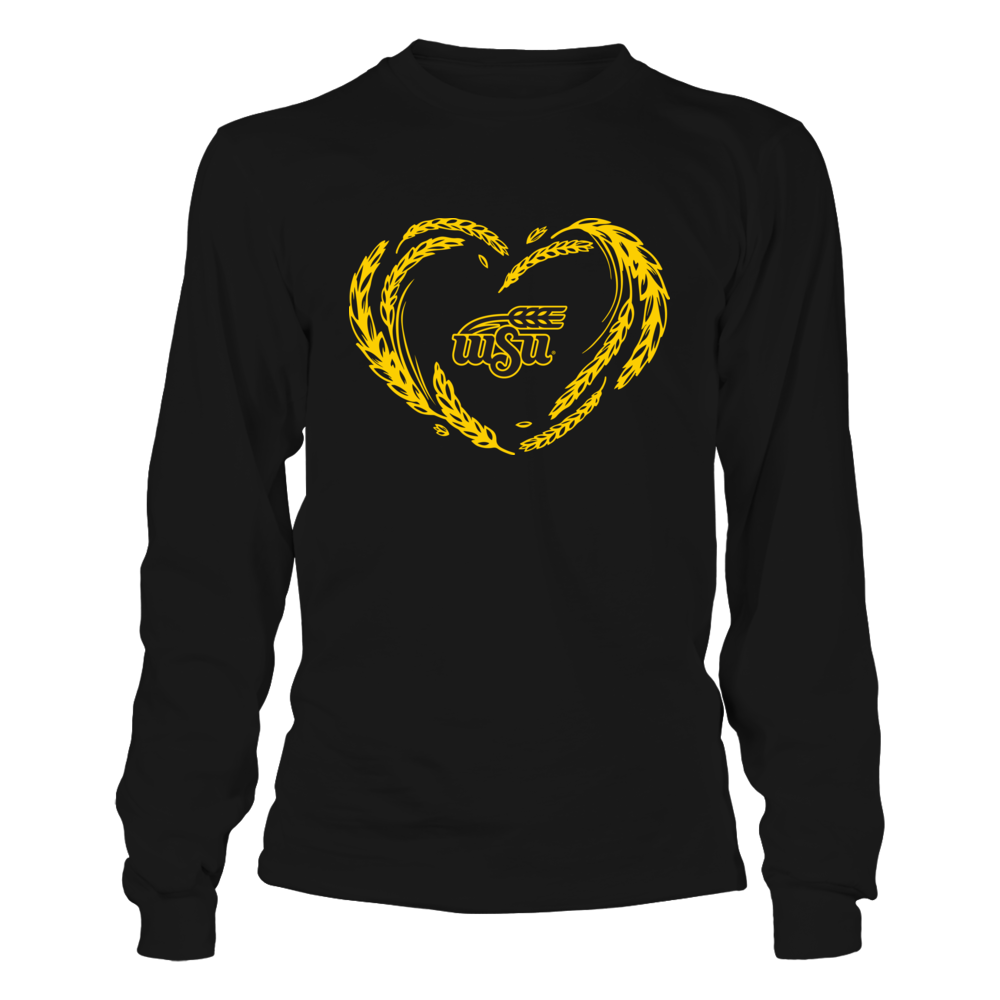 Wichita State Shockers - Wheat Heart - Ver 2 Front picture
