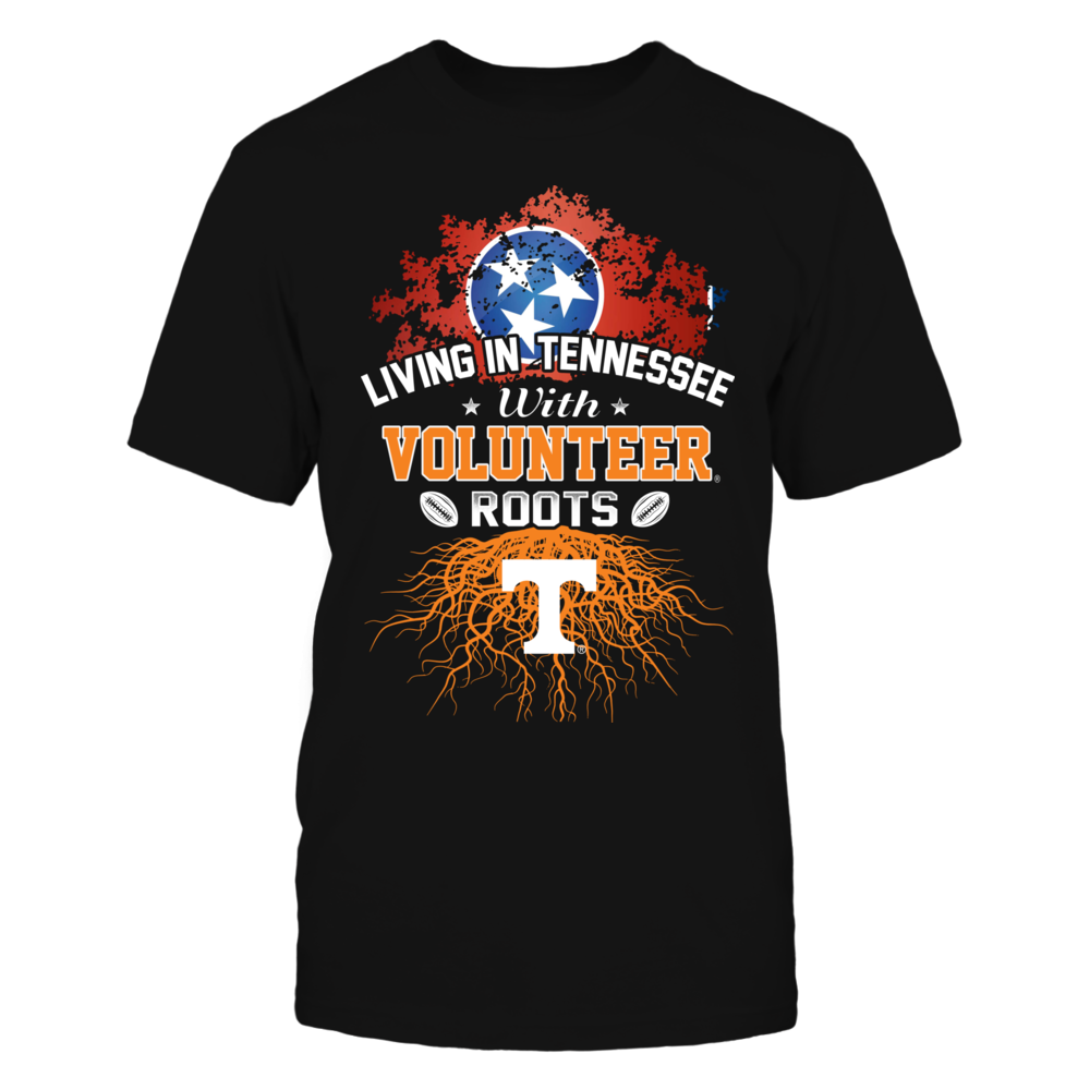 Living in Tennessee with Volunteers Roots Front picture