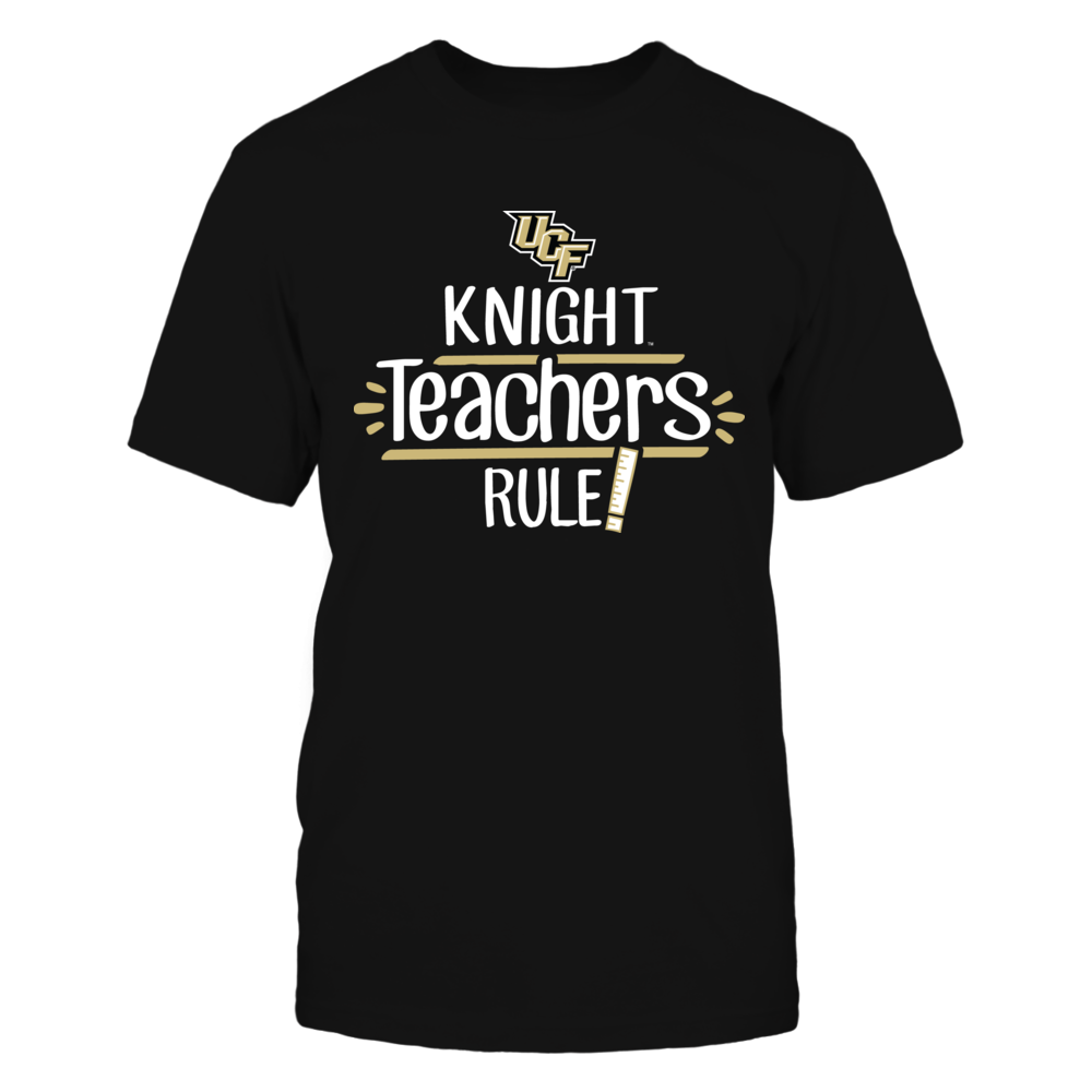 Knight Teachers Rule UCF Knights T-Shirt Front picture