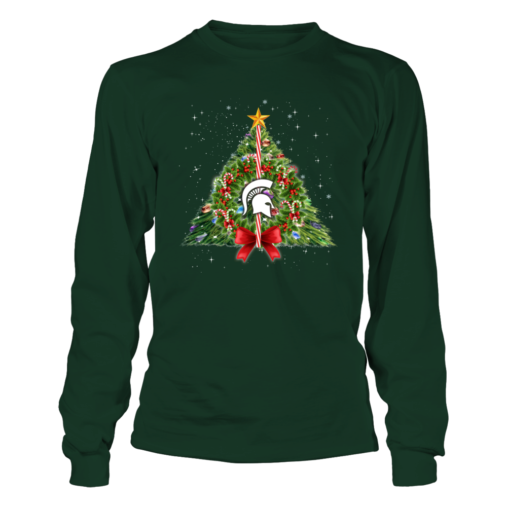 Michigan State Spartans - Christmas Deathly Hallows Front picture