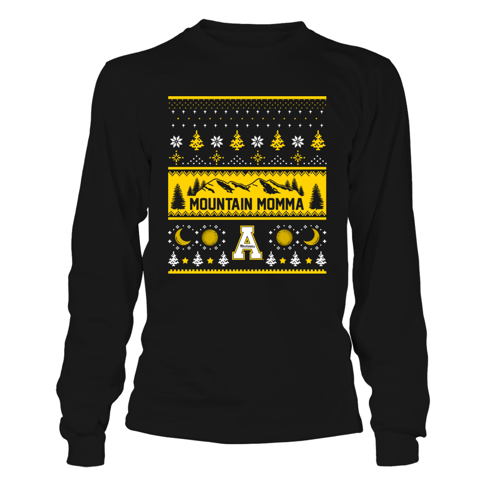 Appalachian State Mountaineers - Mountain Momma Ugly Sweater Front picture