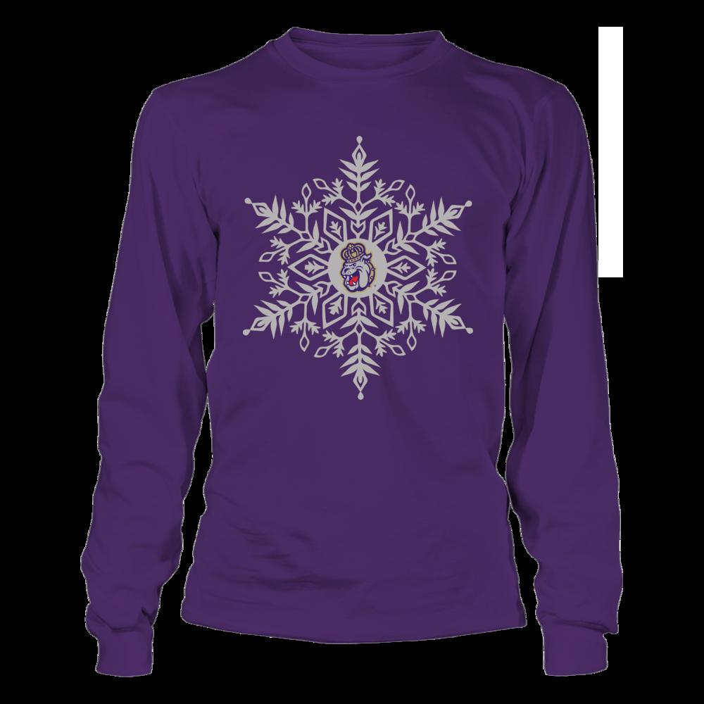 James Madison Dukes - Snowflake Logo Front picture