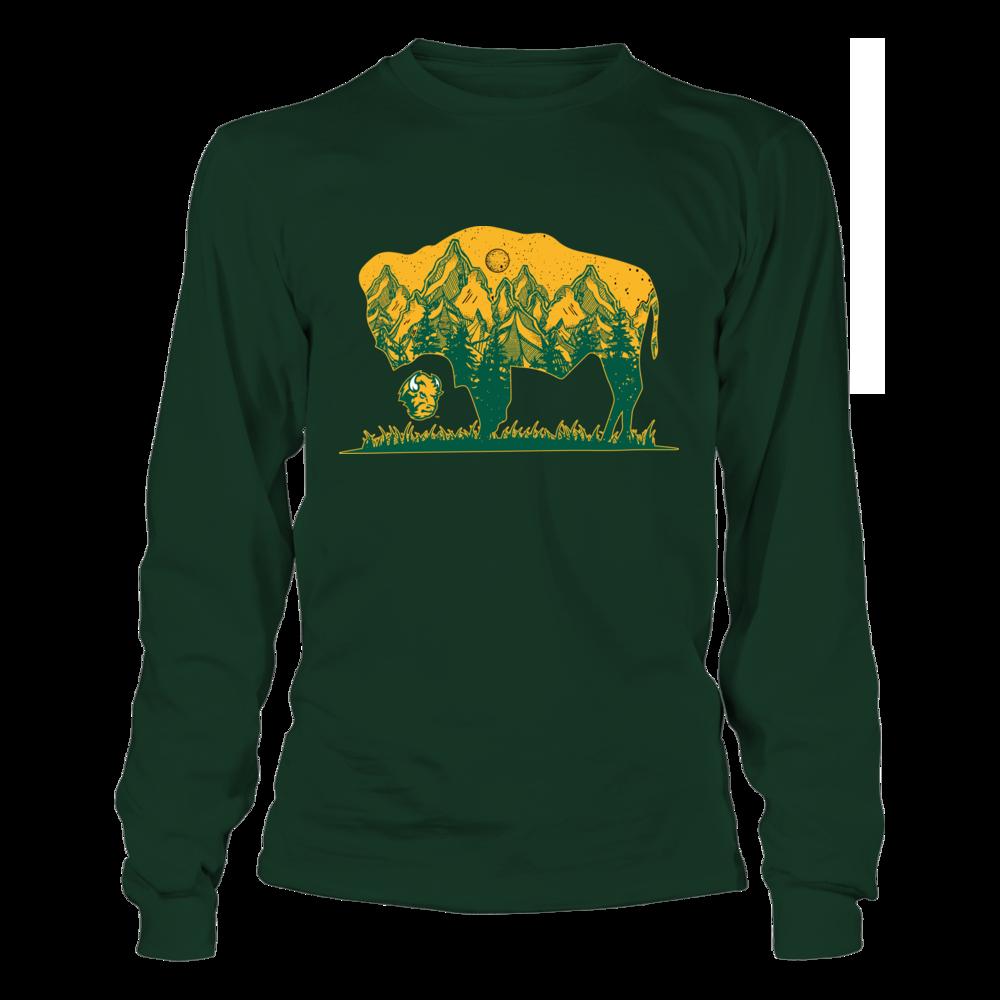North Dakota State Bison - Mountain Mascot Front picture