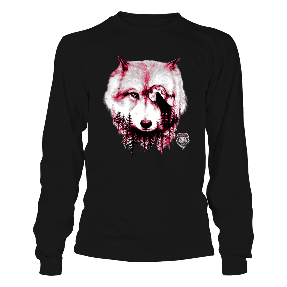 New Mexico Lobos - Mountain Mascot - Wolf Front picture
