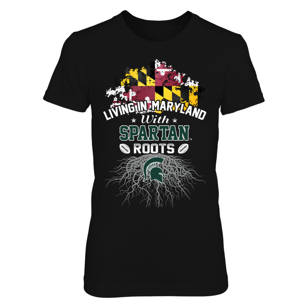Living in Maryland with Spartans Roots Front picture