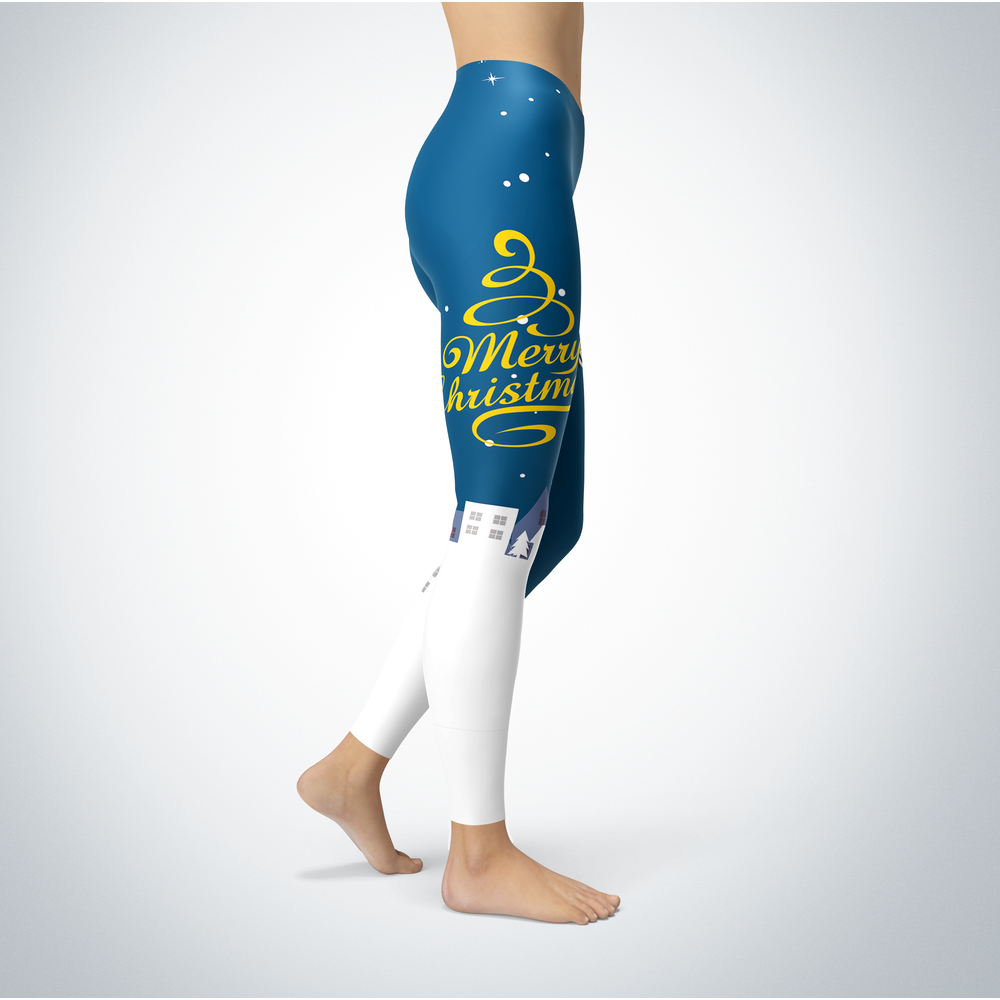 Santa Merry Christmas - UMKC Kangaroos - Leggings Front picture