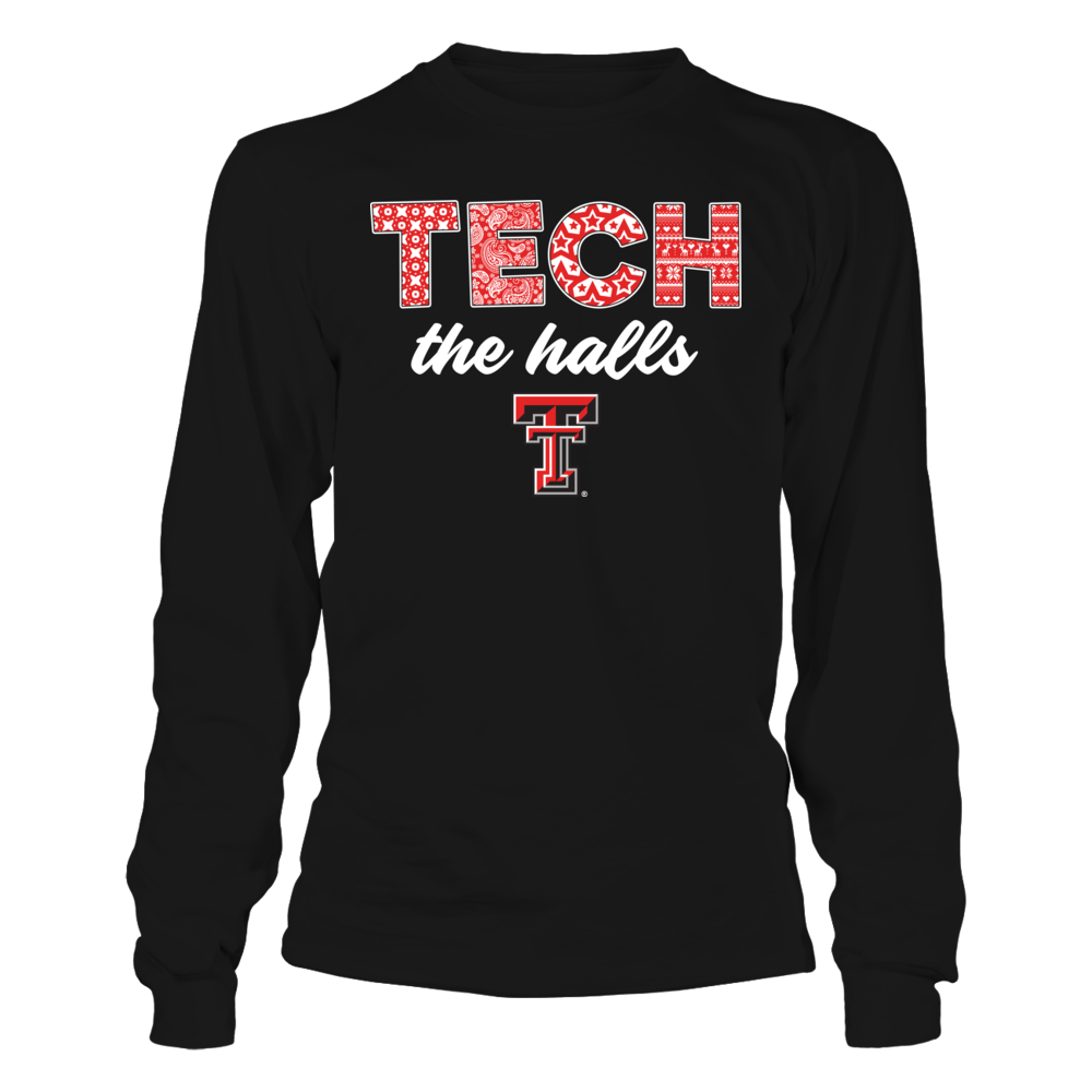 Texas Tech Red Raiders - Patterned Christmas Slogan Front picture