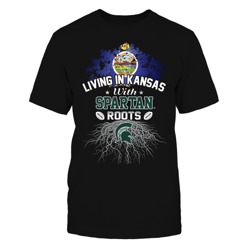 Living in Kansas with Spartans Roots Front picture