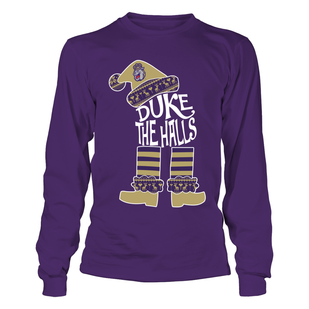 James Madison Dukes - Christmas Team Quote Inside ELF Front picture