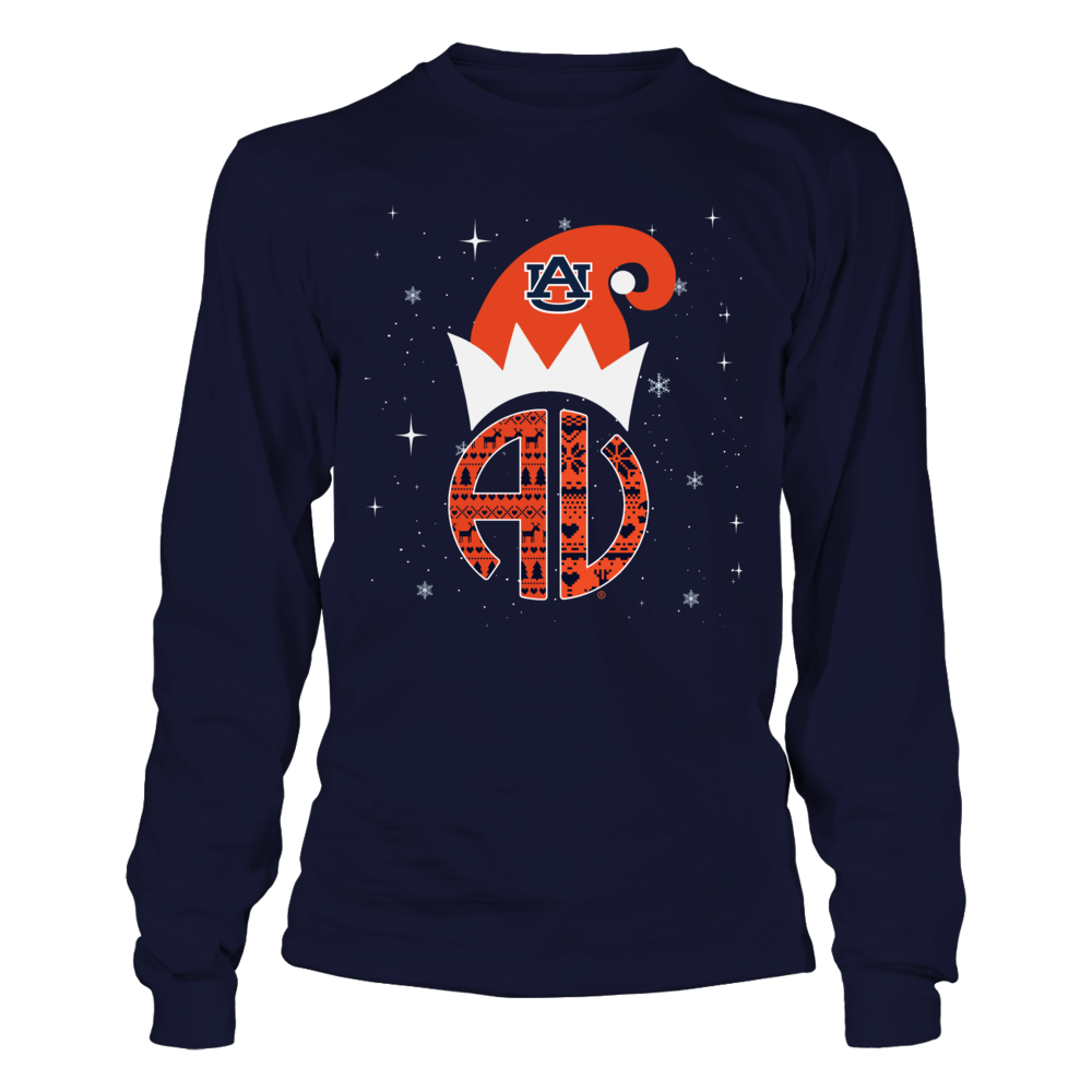 Auburn Tigers - ELF Patterned Monogram Front picture