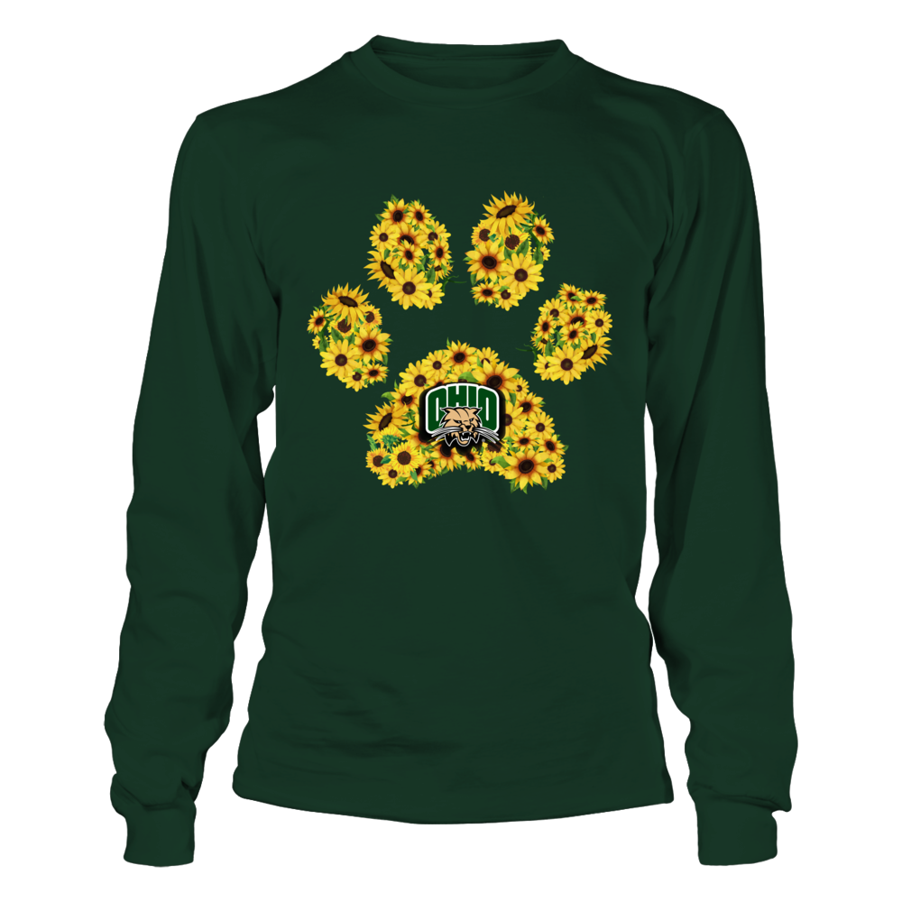 Ohio Bobcats - Sunflower Paw Front picture